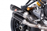 Auspuff QD Twin Carbon Ducati Monster 1200 S