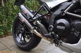 Auspuff QD Twin Carbon Komplettanlage Ducati Multistrada 1200