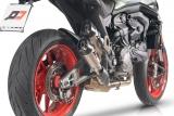 Auspuff QD Twin Titan Gunshot Ducati Monster 937