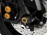 Puig Achsenschutz Vorderrad Triumph Trident
