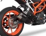 Auspuff Cobra Hypershots Ultrashort KTM Duke 125