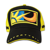 MotoGP Valentino Rossi 46 Cap schwarz/gelb
