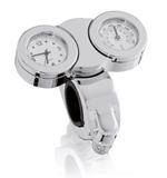 Custom Acces Uhr und Thermometer