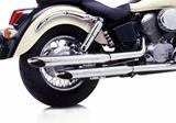 Auspuff Silvertail Komplettanlage Honda VT 600
