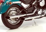 Auspuff Silvertail Kawasaki VN 800 Classic