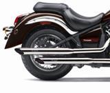 Auspuff Silvertail Kawasaki VN 900