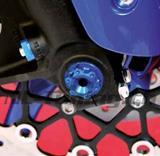 Evotech Achsmutter Vorderrad Yamaha R3