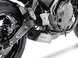 Auspuff Leo Vince Underbody Komplettanlage Kawasaki Z650