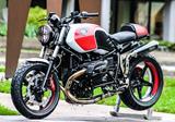 Auspuff BOS Ssec GT Racingkrümmer BMW R Nine T
