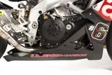 Carbon Ilmberger Motorspoiler 3-teilig Aprilia Tuono V4 R