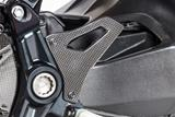 Carbon Ilmberger Fersenschutz Set Ducati Monster 1200 R