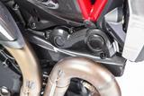 Carbon Ilmberger Zahnriemenabdeckung horizontal Ducati Monster 1200