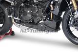 Carbon Ilmberger Motorspoiler kurz Triumph Speed Triple 1050