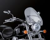 Custom Acces Touringscheibe Daytona Honda VT 750 Black Spirit