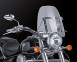 Custom Acces Touringscheibe Chopper Honda VT 750 Black Spirit