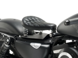 Custom Acces Solo Seat Hot Rot Harley Davidson Sportster